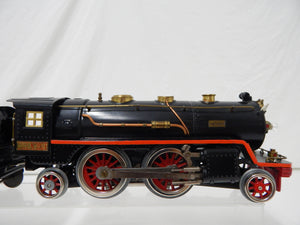 Lionel Trains390E Standard Gauge 2-4-2 Steam Engine & Tender Repaint Runs Restored