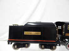 Load image into Gallery viewer, Lionel Trains390E Standard Gauge 2-4-2 Steam Engine & Tender Repaint Runs Restored