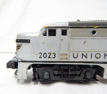 Load image into Gallery viewer, Lionel 2023 Union Pacific AA Alco SILVER Gray OVER YELLOW Diesels Running 1951
