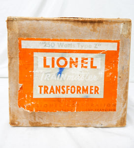 Lionel Type Z transformer 250 watts 4 controls TrainMaster 1945-47  BOXED