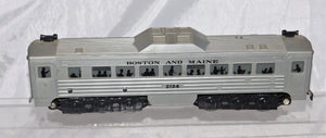 Vintage Marx 2124 Motorized Budd Rail Diesel Car Boston and Maine RDC 1956-59 O