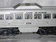 Load image into Gallery viewer, Vintage Marx 2124 Motorized Budd Rail Diesel Car Boston and Maine RDC 1956-59 O
