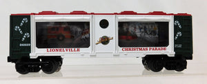 Lionel 6-26859 Christmas Parade Box Car HOLIDAY Lioneville Animated w/ on/off