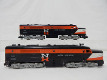 Load image into Gallery viewer, American Flyer 494 495 New Haven ALCO PA Diesel Locos set 1956 S Gauge AA CLEAN!