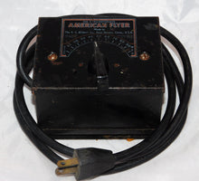 Load image into Gallery viewer, American Flyer #2 transformer 75 watts AC tested& works postwar rough cosmetics