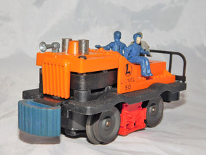 Lionel 50 Gang Car Side Horn RUNS motorized unit DOWNward Bumpers reverses Gray man