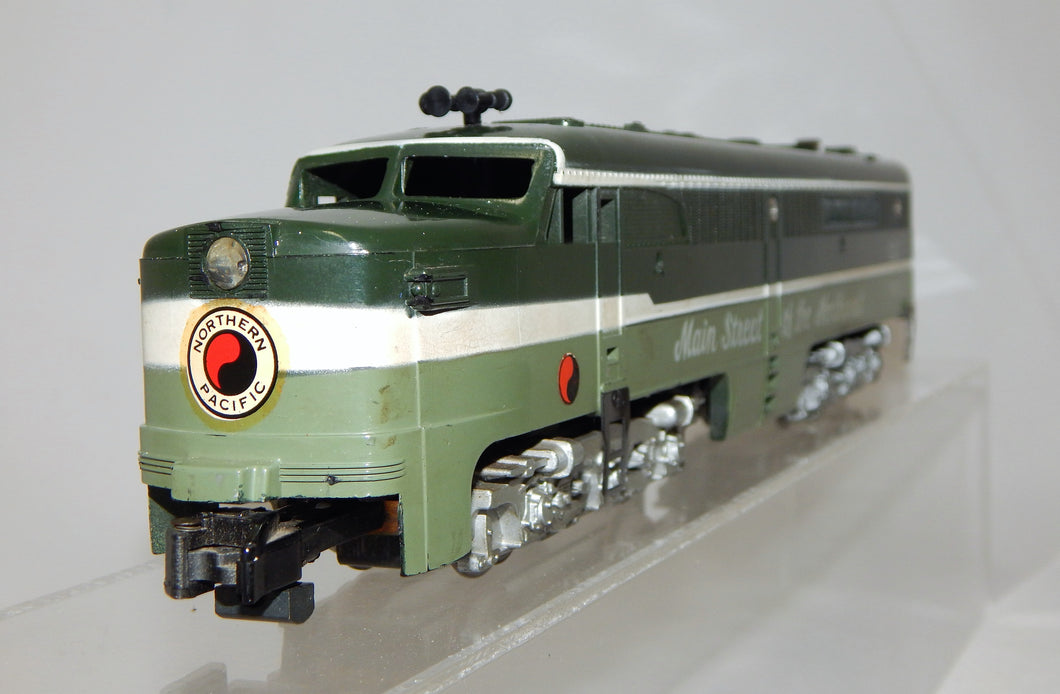 American Flyer 21551 Northern Pacific PA Diesel North Coast Limited METAL STEPS VERSION