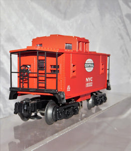 Lionel Trains 6-26574 New York Central Railroad lighted red caboose O/027 NYC