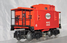 Load image into Gallery viewer, Lionel Trains 6-26574 New York Central Railroad lighted red caboose O/027 NYC