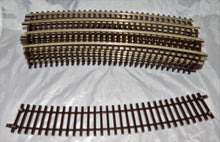 "Load image into Gallery viewer, Atlas O #7062 Lot of 16 Sections 36"" radius Complete Circle 2 Rail O Scale nickle silver"