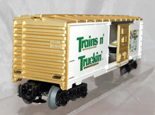 Load image into Gallery viewer, Lionel Trains 6-7803 Trains N' Truckin' 1977 Boxcar Dealer Bonus 3 rail Promo