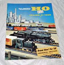 Load image into Gallery viewer, American Flyer D4106 1958 Gilbert HO SCALE TRAINS catalog USA Postwar REALLY NICE