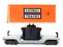 Load image into Gallery viewer, Lionel Trains 6461 transformer depressed center flatcar insulators 1949-50 BOXED