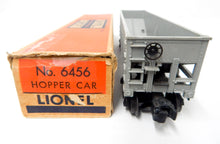 Load image into Gallery viewer, Clean Boxed Lionel 6456-25 GRAY Lehigh Valley hopper red maroon lettering 54-55