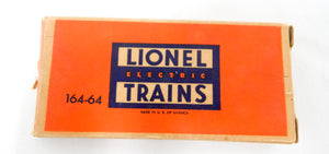 Lionel Trains SCARCE BOXED Postwar 164-64 Five Logs in Separate sale box 364 O