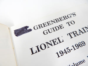 Greenberg's Guide to Lionel Trains 1945-1969: Motive Power and Rolling Stock LN