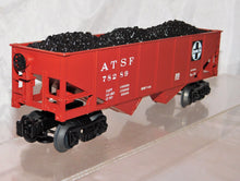 Load image into Gallery viewer, Lionel Trains 6-26438 Santa Fe Hopper w/coal load ATSF 78289 uncatalogued 2010