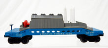 Load image into Gallery viewer, Lionel Trains Postwar 6544 Missile Firing Trail Car Military army Blue 8 missles