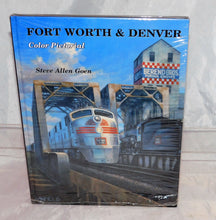 Load image into Gallery viewer, Fort Worth & Denver Color Pictorial Hardcover railroad book Goen Texas train C9