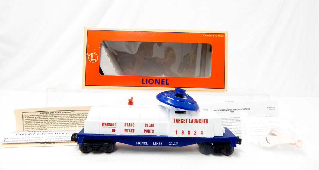 Lionel 6-19824 US Army Operating Target Launcher 3470 balloon military O gauge