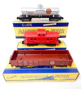 DIFFRNT BOXED SET 1957-58 American Flyer #20123 Steam Freight Fig 8 Over & Under