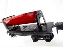 Load image into Gallery viewer, Prewar Lionel 3659 Auto Coal Dump car 1939-42 Red Bin blacknd trcks Works great