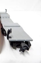 Load image into Gallery viewer, Lionel Trains 6518 depressed center flatcar w/ US Steel Girders Pinkish-Orange O