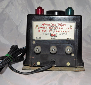 Vintage 1953 American Flyer 15B 110 watt transformer Deadman Handle AC Serviced