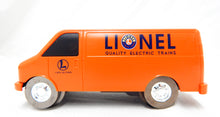 Load image into Gallery viewer, K-Line Superstreets Lionel Trains Delivery Van Roadway System C8 motorized orang