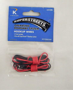 K-Line Superstreets Roadway System 6-21290 Hook Up Wire Power to track C10