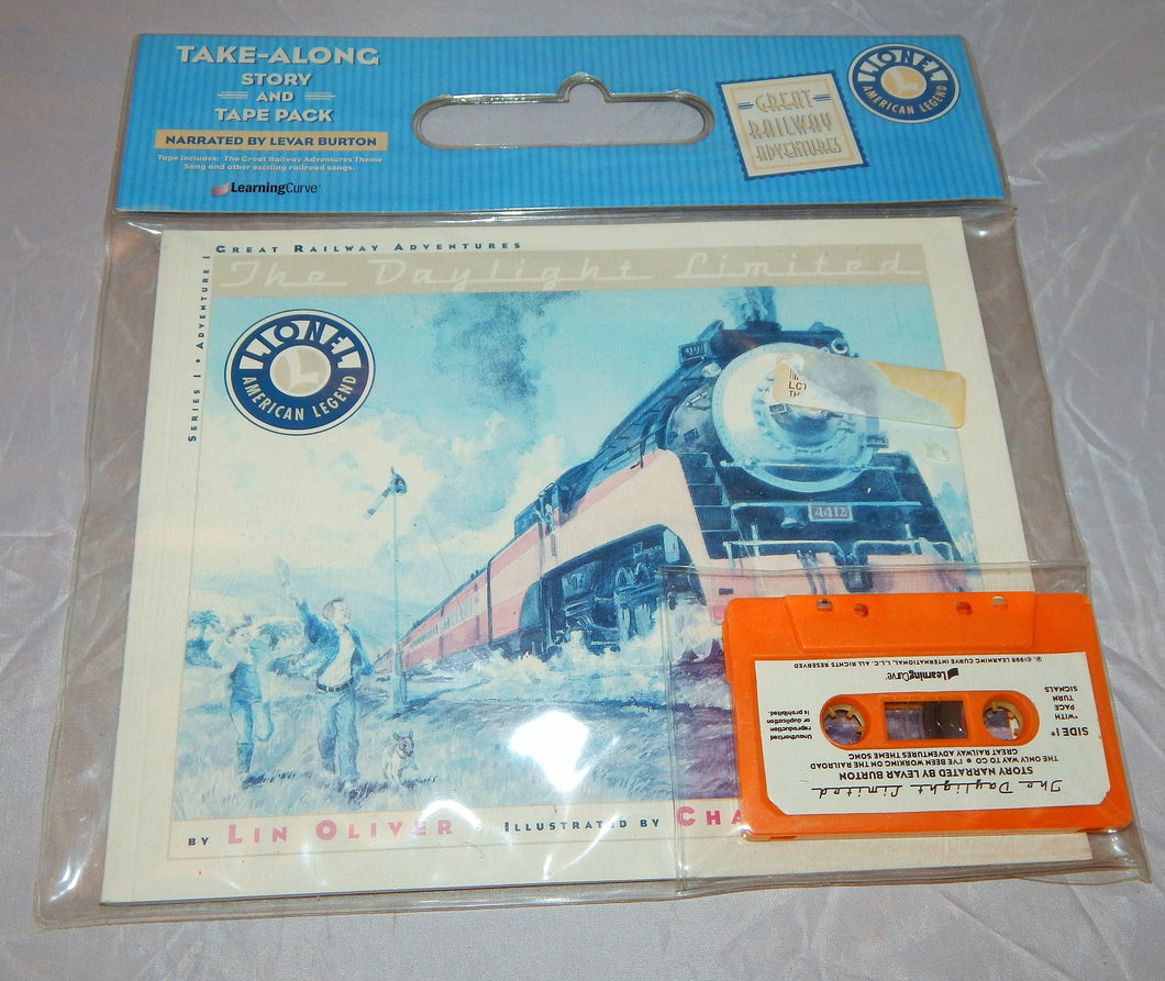 The Daylight Limited Book & Tape Lionel Great Railway Adventures softcover Oilvr