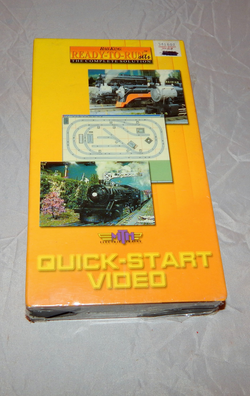 MTH Trains VHS Ready to Run Train SET instructional tape Sealed Quick Start RK