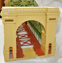 Load image into Gallery viewer, MTH 10-1015 #300 Hellgate Bridge Standard Gauge Metal New Boxed Cream/Green tinp