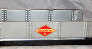 Marx #1392 Manual Lift bridge Plate Girder Illinois Central Silver O/027 Metal