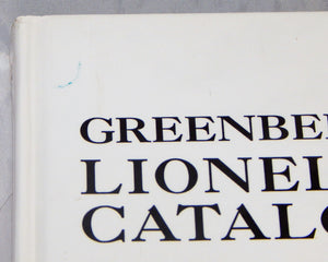 Cleanest Greenberg's Lionel Catalogues Volume 4 1961-1969 Book hardcover 10-6935