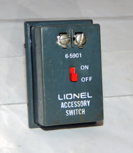 Load image into Gallery viewer, Lionel Trains Part 6-5901 Accessory Switch On/Off Controller sound