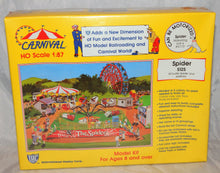 Load image into Gallery viewer, IHC HO 5125 The Spider Carnival Ride +Platform Kit C10 1/87 Sealed can be mtrizd