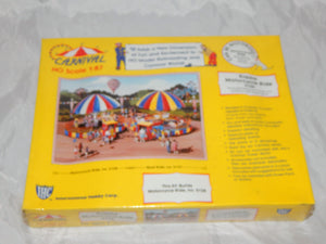 IHC 5128 KIDDIE Motorcycle Ride +Platform w/ticket Ofc Carnival Kit 1/87 SEALED