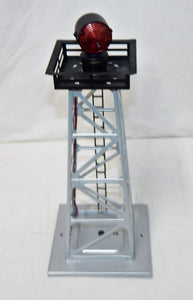 BOXED Lionel 6-12831 #394 Automatic Rotating Beacon Tower Aluminum accessory O