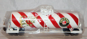 Lionel 6-17946 Candy Cane Unibody SingleDome Tank Car Lionelville Christmas Standard O