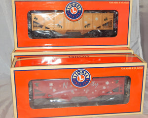 Lionel Trains 6-16467 Naughty & Nice Hopper 2 pack presents & coal Christmas O