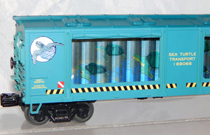 MTH 30-79208 SEA TURTLE Aquarium Car Animated Lighted Action Rescue Car O C7