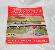 Load image into Gallery viewer, American Flyer 1961 Folder D2242 Rev AUTORAMA RACE SETS Highway System slot car
