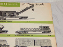 Load image into Gallery viewer, American Flyer Trains 1962 Advance Dealer Catalog D2282 S gauge w/21130 Hudson