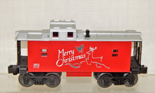 Load image into Gallery viewer, Lionel 6-36516 O Gauge lighted Christmas Caboose Merry Christmas Holidays 027