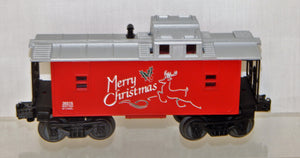 Lionel 6-36516 O Gauge lighted Christmas Caboose Merry Christmas Holidays 027