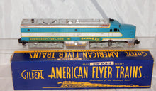 Load image into Gallery viewer, 1953 Chromed American Flyer 466 COMET PA diesel Serviced runs Factory Overpaint!