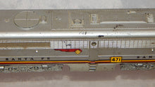 Load image into Gallery viewer, 1955 American Flyer 471 Santa Fe Chief SILVER PB B unit with Diesel Roar warbont