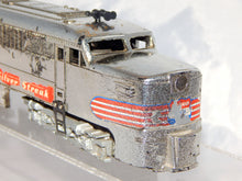 Load image into Gallery viewer, 1952 American Flyer 405 Silver Streak Chromed Diesel PA Serviced & running WOW