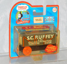Load image into Gallery viewer, Thomas Tank Engine Wooden SC Ruffey freight car NEW IN PACKAGE Retired  LC 99029